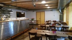 Bar - ideal für 20 - 30 Personen