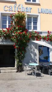 Cafébar Landhaus am Tag